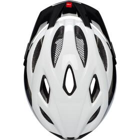 MET Crossover Cykelhjelm, white/black